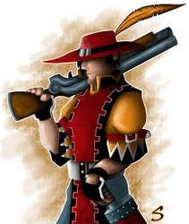 Crimson Musketeer by Saberhagen