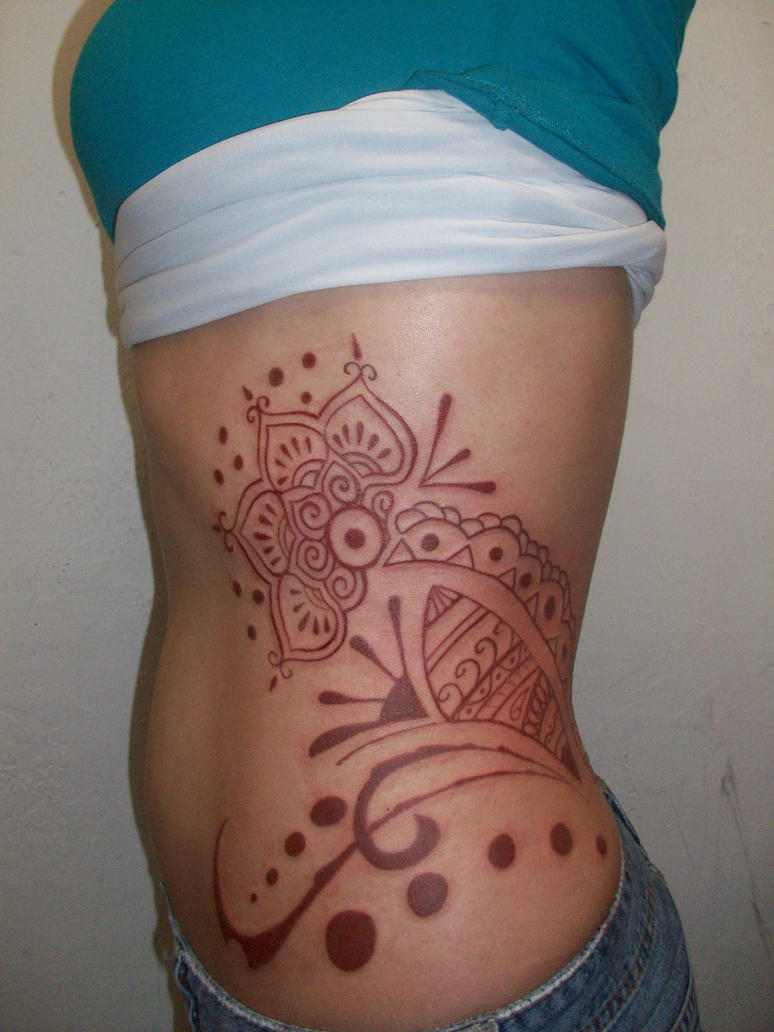 Women Mehndi Henna Tattoo Designs Picture 6