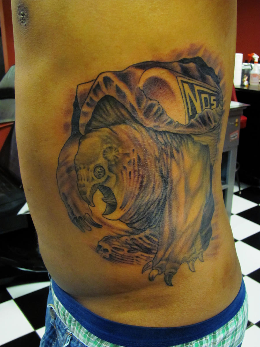 Snapping Turtle Tattoo