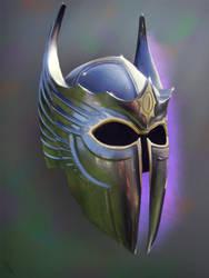 Metal Armor Study 2 Day #16 by AngelGanev