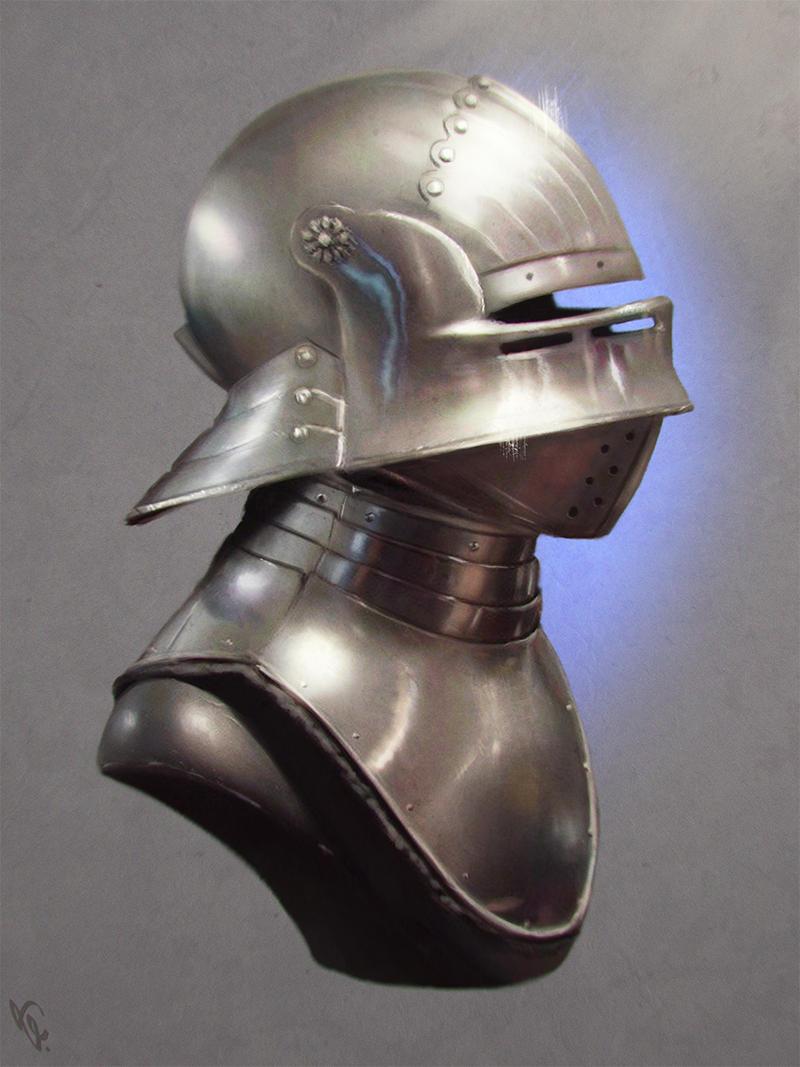 Metal Armor Study 5 Day #19
