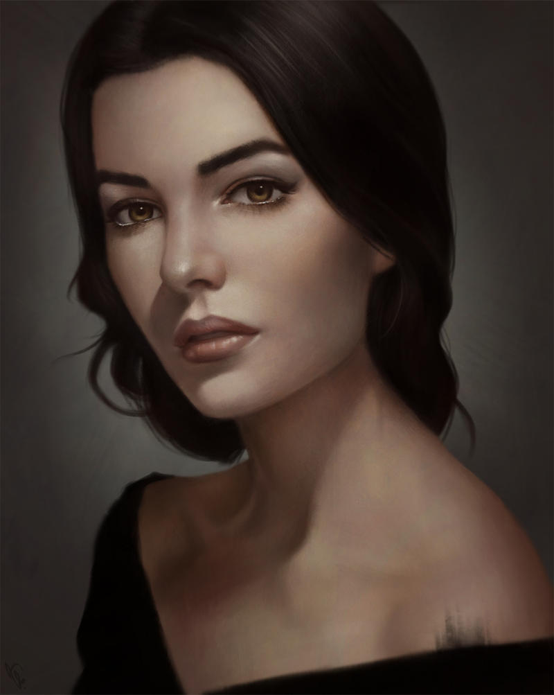Famous Painting Of Woman With Great Eyebrows