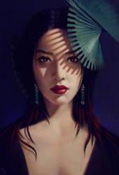 Female Portrait Study 15 Day #106 by AngelGanev