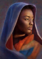 Female Portrait Study 17 Day #108 by AngelGanev