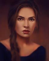 Female Portrait Study 26 Day #117 by AngelGanev