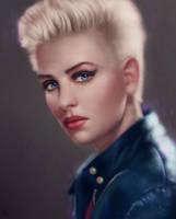 Female Portrait Study 29 Day #120 by AngelGanev