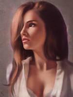 Female Portrait Study 34 Day #125 by AngelGanev