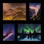 Landscape Thumbnail Studies 3 Day #129