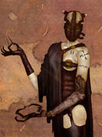 Gerald Brom Study 7 Day #140 by AngelGanev
