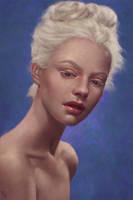 Girly Portrait Study 46 Day #235 by AngelGanev