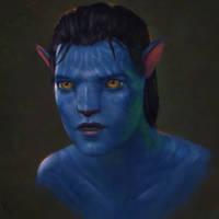 Avatar Fan Art 2 Day #268 by AngelGanev