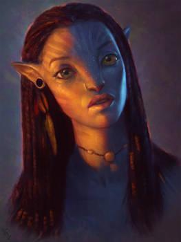 Avatar Fan Art 3 Day #269