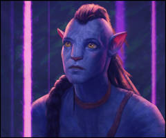 Avatar Fan Art 16 Day #331 by AngelGanev