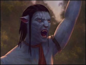 Avatar Fan Art 20 Day #335