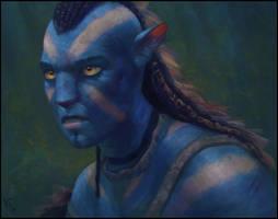 Avatar Fan Art 21 Day #336 by AngelGanev
