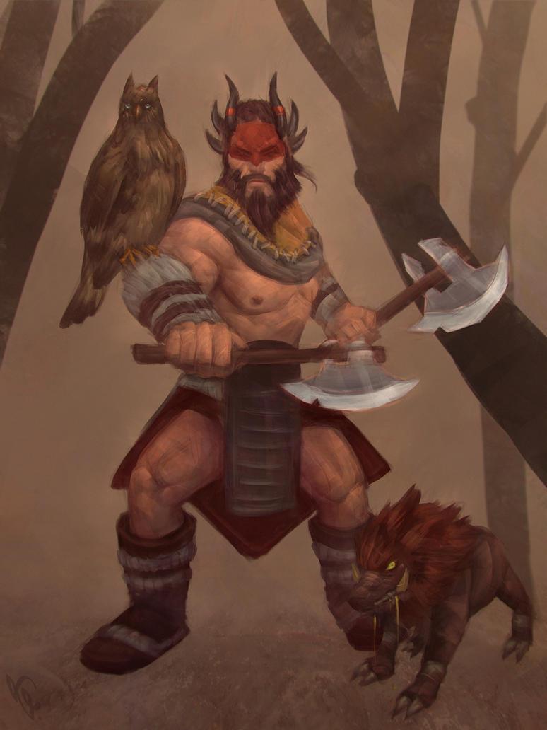 dota2 beastmaster day 8 by angelganev on deviantart