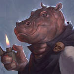 Hippo with a Zippo Day #89