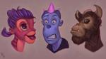 Weird Faces III #185
