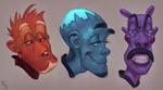 Weird Faces VII #189