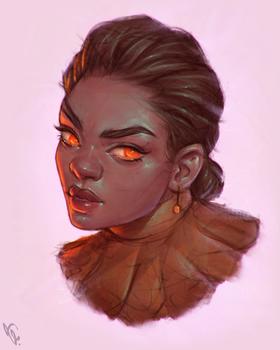 Nomi - Portrait Vignette VI #230