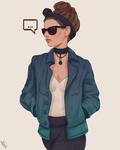 Stylized Character II #296