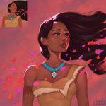 Screencap Redraw Pocahontas - Day #94