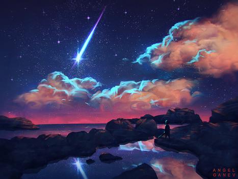 Star Bolt - Day #178 by AngelGanev