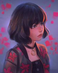 Sad Eyes - Day #233 by AngelGanev