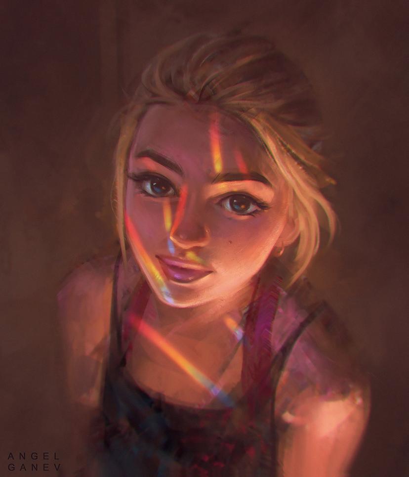 Rainbow Light - Day #336 by AngelGanev