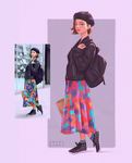 Colorful Skirt - Day #362