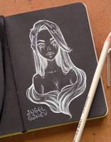 Black Sketchbook Page 2 by AngelGanev