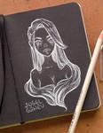 Black Sketchbook Page 2
