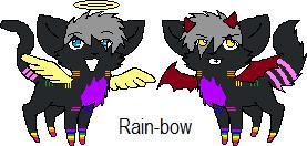 Rainbow twins~ Icon by RainbowtheKitty