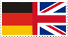 Germany-UK Stamp by LeonLover