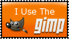 Gimp stamp by WOWandWAS