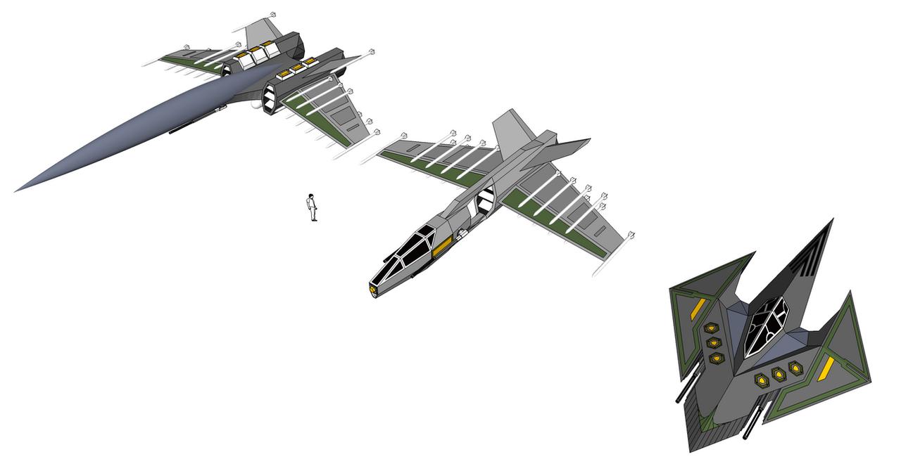 Fighter line up by WOWandWAS
