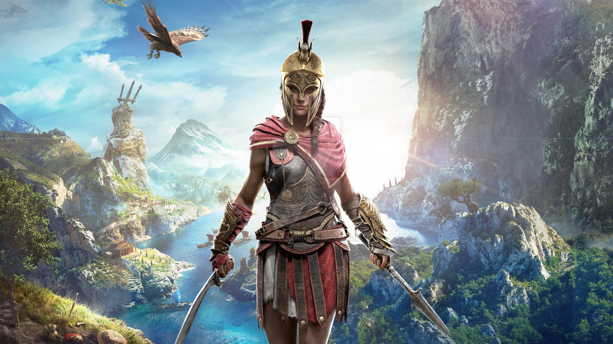 fans assassins creed odyssey - HD 3840×2160