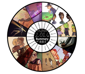 2016 year in art by PiedPiperPluto