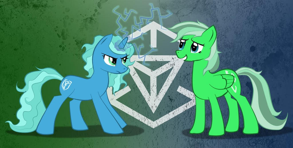 My Little Ingress by Domnitro