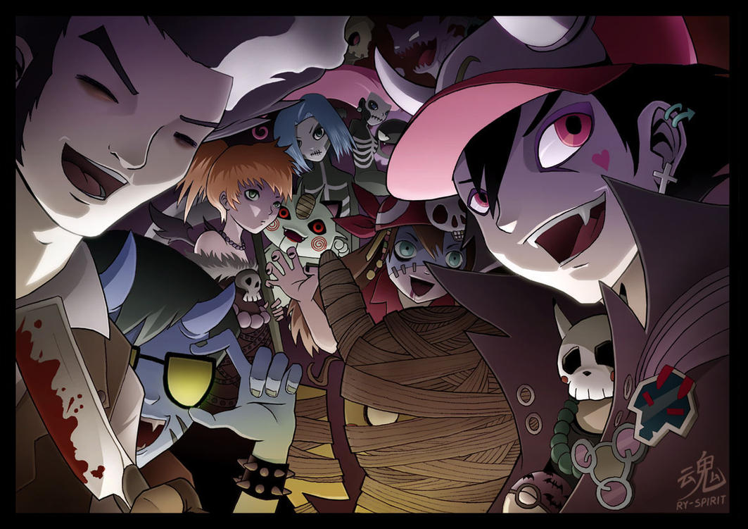 Pokemon Halloween Special by Ry-Spirit