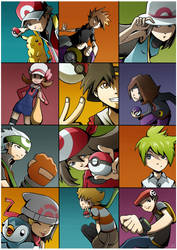 Pokemon Heroes by Ry-Spirit