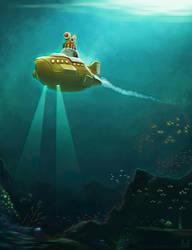 Yellow Submarine 3D Version