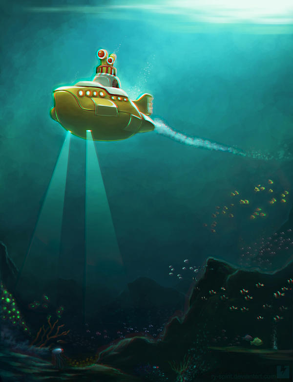 Yellow Submarine 3D Version by Ry-Spirit