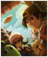 Johto Explorers by Ry-Spirit