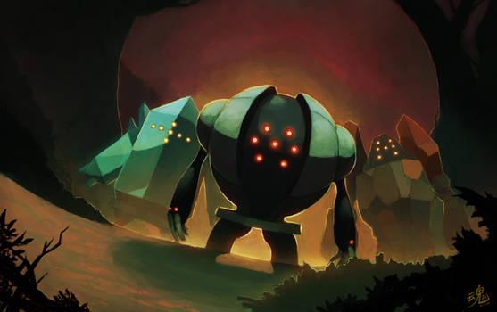 The Legendary Golems by Ry-Spirit