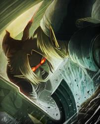 Facing the Dark Self by Ry-Spirit