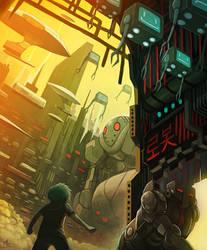 Into the Machine City by Ry-Spirit