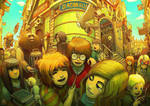 Harry Potter in Diagon Alley by Ry-Spirit