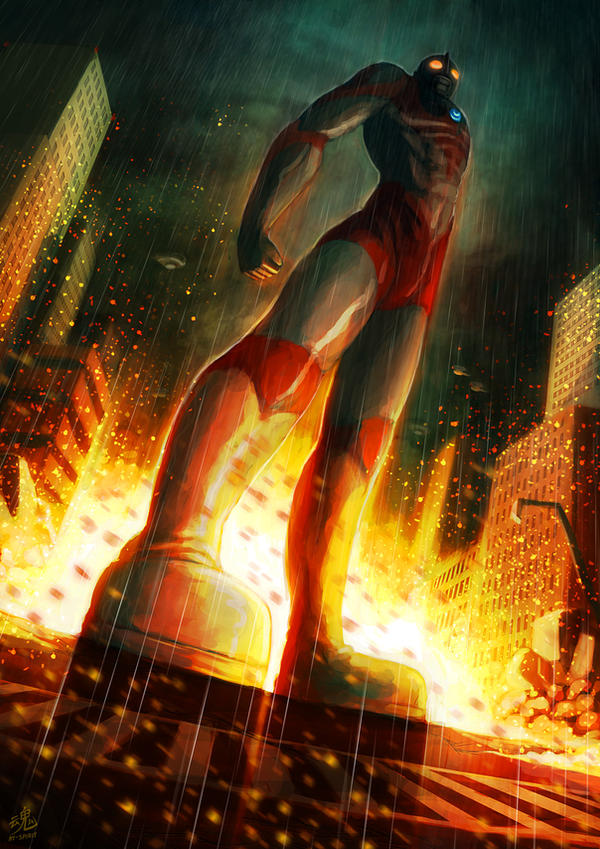 Ultraman the Protector of Earth by Ry-Spirit