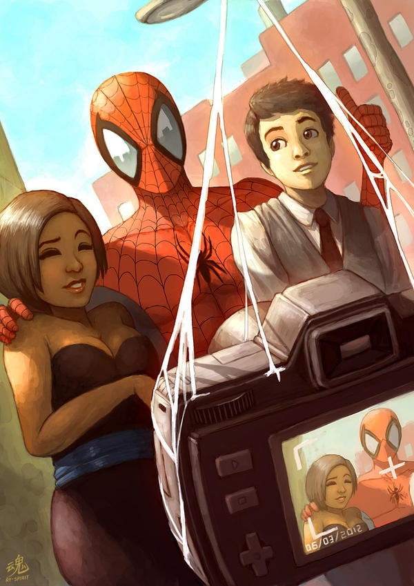 Spider-Fans by Ry-Spirit